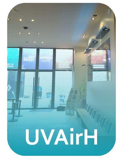 UVAir H - décontamination de l'air pour pièces à plafond haut